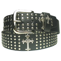 Ремень Gothic Cross Studded