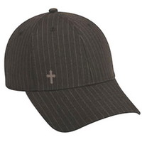 Бейсболка Pin Striped Cross