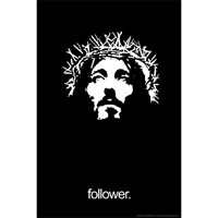 Плакат Jesus Follower