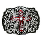 Пряжка Cross Ornament Red